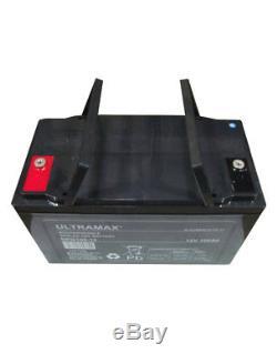100Ah 12V Gel Deep Cycle Leisure Battery Camper, Van, Caravan, Motorhome, Alarm