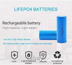 100Ah 12V LITHIUM LiFePO4 Battery for Leisure, Solar, Wind and Off-grid 12 volt