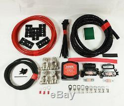 10 Metre Twin Leisure Battery Durite Split Charge Kit 12V 140A Heavy Duty