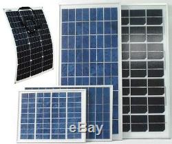 10w 20w 30w 50w 80w 100w 120w PV Solar Panel for 12v 24v battery system UK stock