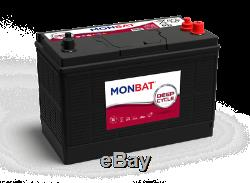 110Ah 12V Deep Cycle AGM Battery for Leisure, Solar, Wind and Off-grid 12 volt