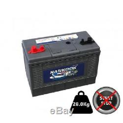 110ah Replacement Leisure Battery, XL31 12V 130Ah Heavy Duty