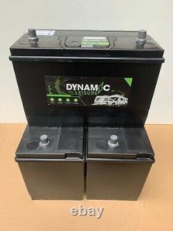 115Ah DYNAMIC 12V Leisure battery set of 3 for narrowboat, motorhome or stables