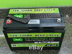 120AH 12V Lithium leisure battery