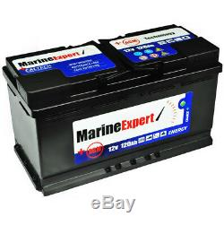 120Ah AGM Navy Bootbatterie Boat USV Maintenance-Free Battery Instead 110Ah Gel