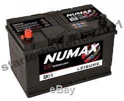 12V 100AH Numax LV26MF Heavy Duty Deep Cycle Leisure Marine Battery 2 year Wrnty