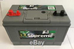 12V 105AH LUCAS LX31 Deep Cycle Battery Electric Fence Solar & Wind Systems