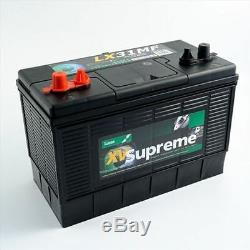 12V 105AH LUCAS LX31 Deep Cycle Leisure Marine Battery Dual Posts (Terminals)