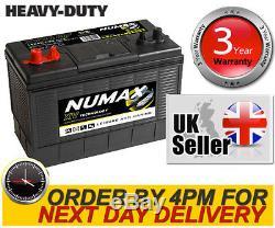 12V 105AH Leisure Battery Numax XV31MF CXV Leisure Caravan