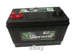12V 105AH Lucas LX31 Super Heavy Duty Ultra Deep Cycle Leisure Marine Battery