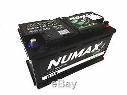 12V 105AH Numax DC25MF HD Deep Cycle Leisure Marine Battery NCC Approved Class B