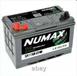 12V 105AH Numax DC31MF HD Deep Cycle Leisure Marine Battery NCC Approved Class B