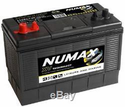 12V 105AH Numax XV31MF Leisure Marine XV Tech Auxiliary Power & Starting Battery