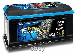 12V 110AH Expedition Plus Semi Traction Motorhome Leisure Battery 4 Year GTEE
