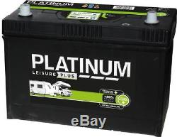 12V 110AH Platinum S6110L Ultra Deep Cycle Leisure Marine Battery 3 yrs Wrnty