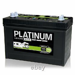12V 110AH Platinum SD6110L Deep Cycle Leisure Battery Dual Terminal / Twin Post