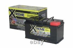 12V 110 AH Xtreme AGM Deep Cycle Leisure Battery- 4 Year Warranty