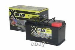 12V 110 AH Xtreme AGM Deep Cycle Leisure Battery XR1750 4 Year Warranty