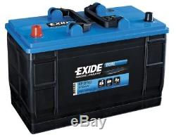 12V 115AH (110ah) EXIDE ER550 Ultra Deep Cycle Leisure Marine Battery 3yrs Wrnty