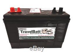 12V 120AH (110AH) TB31MF (XV31MF) Deep Cycle Leisure Battery Caravan Motor Mover