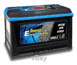 12V 120AH Expedition Plus Semi Traction Leisure Battery 4 Year Warranty