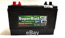 12V 120AH SuperBatt DT120 Leisure Marine Battery for Boat-home / Boat / Yacht