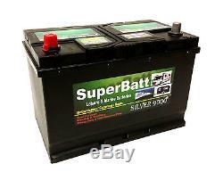 12V 120AH SuperBatt LM120 Leisure Battery Caravan Motorhome Mover, Marine Boat