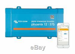 12V 130Ah Leisure Battery For Caravan Camper Boat With Victron 12/375 Inverter