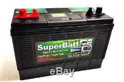 12V 135AH SB LM135 Super Heavy Duty Ultra Deep Cycle Leisure Marine Battery /
