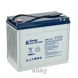 12V 150AH EXPEDITION PLUS AGM DEEP CYCLE LEISURE BATTERY (EXP12-150) (lagm160)