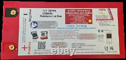 12V 200Ah Lithium battery Ideal for leisure use 150A Charge 300A Discharge