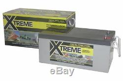 12V 220 AH Xtreme AGM Deep Cycle Leisure Battery- 4 Year Warranty
