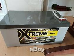 12V 260AH Xtreme AGM Deep Cycle Leisure Battery- 1.7 Year Warranty remaining