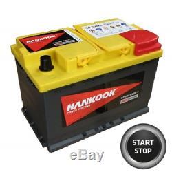 12V 70Ah AGM Deep Cycle Leisure Battery for Caravan Motorhome Camper 277x174x190