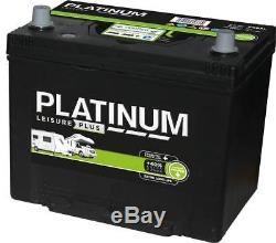 12V 75AH Platinum S685L Heavy Duty Deep Cycle Leisure Marine Battery 3yrs Wrnty