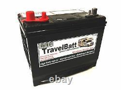 12V 85AH TB24MF Dual Purpose HD Ultra Deep Cycle Leisure Marine Battery