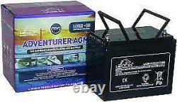 12V 85 AH Leoch Adventurer AGM Deep Cycle Leisure Battery -LAGM 85
