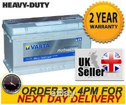 12V 90AH Varta Deep Cycle Leisure Battery Caravan, Motorhome