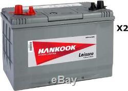 12V 90Ah Deep Cycle Leisure Battery for Caravan, Camper, Boat & Motorhomes