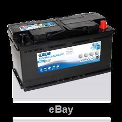 12V 95AH (100AH) EXIDE EP800 HD Ultra Deep Cycle VRLA AGM Leisure Marine Battery