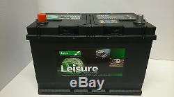 12V 95AH LUCAS LL26 Leisure Marine Battery Caravan Motorhome Motor Mover Boat