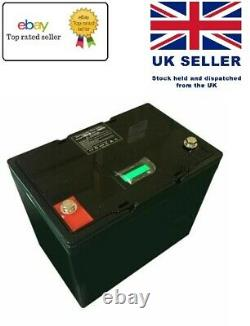 12V LITHIUM LiFePO4 Battery for Leisure Solar Wind Off-grid 50Ah
