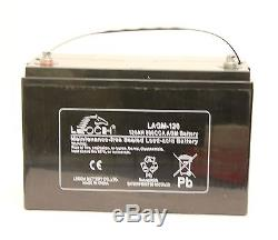 12v Sealed 120 Ah Agm Leisure Battery. Sealed For Life. Free Delivery