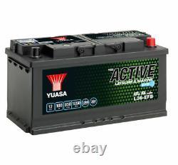 12V YUASA 100AH EFB LEISURE BATTERY (L36-EFB) 3 Year Warranty