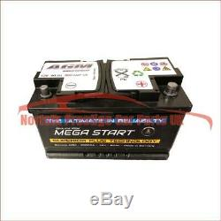 12 Volt 80Ah 800 Amps AGM Leisure Battery 12V 800 Amp Leisure Battery
