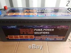 12v 140AH Dual Purpose Leisure & Starter Battery Massive Power D136F