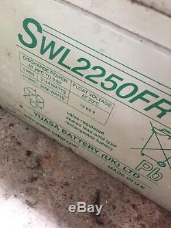 12v 24v 48v Leisure Deep Cycle Batterys SWL2250FR 2KWa Yuasa Solar Renewable