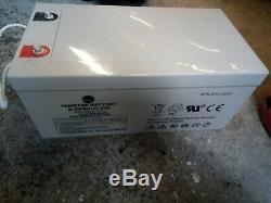 12v 250 Ah Solar Battery Gel/Leisure Battery