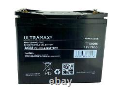 12v 70ah Leisure Battery Heavy Duty Low Height (70 Ah Amp) 70 Amp Dual Purpose