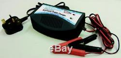 12v Battery Trickle Charger AUTOMATIC Cut Out LEAVE ON Leisure Caravan Motorhome